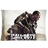 Custom Call of Duty Black Ops souple zippé Parure de lit Taie d'oreiller 16X 24(deux côtés)