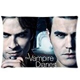 Custom Vampire Diaries Poster Maison décoratif taie d'oreiller Taie d'oreiller imprimé Housse 20* * * * * * * * ...