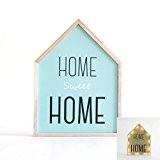Déco lumineuse bois et LEDs Home Sweet Home