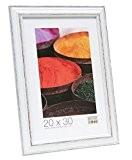 Deknudt Frames S221H3 Basic Cadre Photo Bois Blanc/Noir 50 x 70