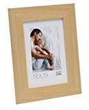 Deknudt Frames S226H1 Basic Cadre Photo Bois Naturel Large 15 x 20cm