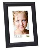 Deknudt Frames S40CL2 Cadre Photo Bois Noir 40 x 50 cm