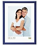 Deknudt Frames S40CL6 Cadre Photo Bois Bleu 40 x 60 cm