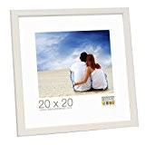 Deknudt Frames S41JL1 Cadre Photo Bois Fin Blanc 30 x 45 cm
