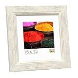 Deknudt Frames S42LK1 Style Rustique Cadre Photo Peint/Bois Blanc 30 x 45 cm