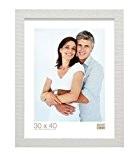 Deknudt Frames S43XF1 Cadre Photo Bois Brut Blanc 30 x 45 cm
