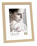 Deknudt Frames S44CH1 Basic Cadre Photo Bois/MDF Chêne Fin 40 x 50 cm