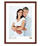 Deknudt Frames S44CH3 Basic Cadre Photo Bois/MDF Brun Clair Fin 40 x 50 cm