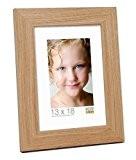 Deknudt Frames S45KJ1 Cadre Photo Bois Chêne Naturel/Clair 10 x 15 cm
