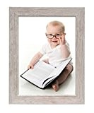Deknudt Frames S48SH1 Cadre Photo Bois Blanc/Clair 40 x 60 cm