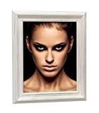 Deknudt Frames S55DF1 Style Classique Cadre Photo Bois Peint Blanc 30 x 45 cm