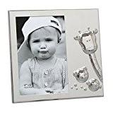 Deknudt Frames S58MB4 Cadre Photo avec Girafe/Singe/Ours Argent Brillant 10 x 15 cm