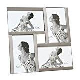 Deknudt Frames S58MK4-G4 Cadre Photo pour 4 Photos Argent 10 x 15 cm
