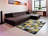 Design moderne tapis du salon BIANCA 21529 35 JAUNE 160 x230 cm