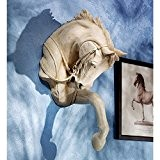 Design Toscano le cheval pur-sang Bas relief Sculpture murale