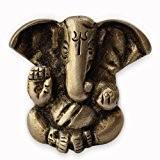 Dieu hindou Ganesha Statue en laiton