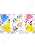 Disney Princesse Stickers muraux deco. Contient environ 40Stickers