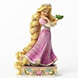 Disney Traditions 4037514 Figurine Raiponce avec Pascal Résine 19 cm