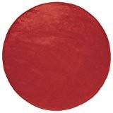 Douceur d'Intérieur - Tapis Velour Louna - Rouge - 90 cm