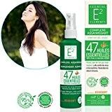 E2 Complexe Assainissant - Spray aérien naturel aux 47 huiles essentielles - Acaricide - Bactéricide - Fongicide - Virucide (Efficacité ...