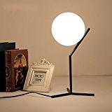 E27simple et moderne Individualité Boule Lampe de table Lampe de bureau lampes chambre salon Lounge Design décoratif de création les ...