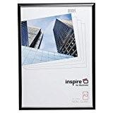 Easa3bkp facile Loader Cadre A3certificat Cadre photo/photo/affiche en noir avec façade en verre acrylique