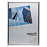 Easa3svp facile Loader Cadre A3certificat Cadre photo/photo/affiche en argent avec non avant en verre