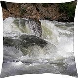 Eaux Blanc–North Fork payette (rivière)–Housse étui couverture Taie d'oreiller (18