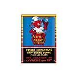 Éditions Clouet 29040 Tableau d'Affichage Vache Qui Rit Marmite CP Métal 15 x 21 cm