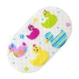 EGOMARKET tapis de bain antidérapant tapis de baignoire antidérapant pour les bébés (petits canrads)