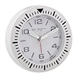 Élégant Lit design Bold Blanc Montre sport côté Alarme Horloge à quartz (peut également accrocher sur mur)