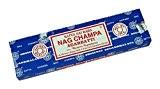 Encens Nag Champa Saï Baba - Boite de 100 G de Batonnets - Satya