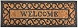 Esschert Design de rb169en caoutchouc et coco Welcome Paillasson
