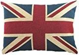 Evans Lichfield Union Jack Coussin Garnissage fibre de polyester 45 cm x 33 cm