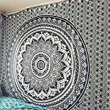 """exclusif """"Multi Couleur Ombre Tapisserie par Raajsee"""" Ombre Parure de lit, Mandala Tapisserie, Queen, Multi Couleur indien Mandala Décoration murale ..."""