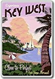 Experience Key West, Florida, USA Vintage Travel Fridge Magnet - Aimant de réfrigérateur