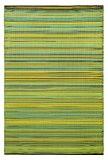 Fab Hab - Cancun - Citron & vert pomme Intérieur Extérieur/tapis (180cm x 270cm)