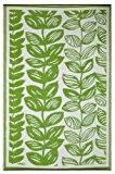 Fab Hab - Malé - Crème et vert Intérieur Extérieur/tapis (180cm x 270cm)