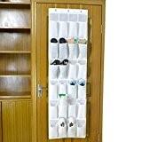 FakeFace® 24 Poches Sac Muraux Accueil Sac Rangement Stockage Suspendu Organiseur Multi-poches Pot Gadgets Arrière-Porte Titulaire Décor Maison Wall Hanging ...