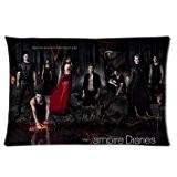 """Fashion taies d'oreiller The Vampire Diaries série TV deux côtés Rectangle Taie d'oreiller 50,8x 76,2cm """""""