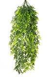 Feuille du bambou retombante artificielle SHIRO, 195 feuilles, vert, 85 cm - Feuillage artificiel / Bambou artificiel - artplants