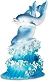 Figurine dauphin avec écume
