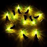 Fil décoratif lumineux avec 10lumières Palmiers
