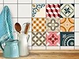 Film adhésif Autocollant | Décoration pour carrelage cuisine - Rénover faience salle de bain | Stickers muraux - Home déco ...