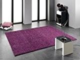FLAIR SHAGGY tapis au poils hauts violet Taille: 160x230 cm
