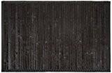 Frandis 220010 Tapis de Bain Bambou Noir 50 x 80 cm
