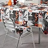 Galette de chaise - 4 rabats - 35 x 35 cm - New-York Manhattan