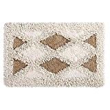GAOJIAN Tapis de coton pur Couvercles de porte de salle de bains Salon Tous les tapis de toilette en coton ...