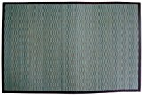 Gelco Design 703586 Tapis de Bain en Bambou Petites Lattes Bahia Bleu 60 x 90 cm