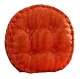 Generic Coussin de chaise en velours côtelé rond